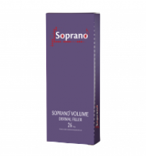 SOPRANO 26 гелеобразный имплант  на основе гиалуроновой кислоты неживотного происхождения